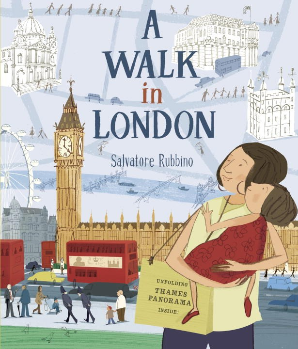 The cover of A Walk in London